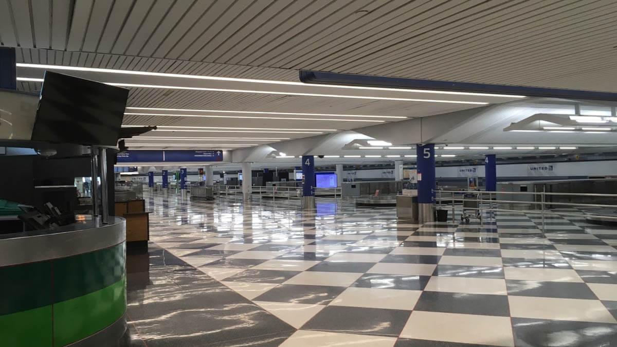 シカゴオヘア空港2020年9月