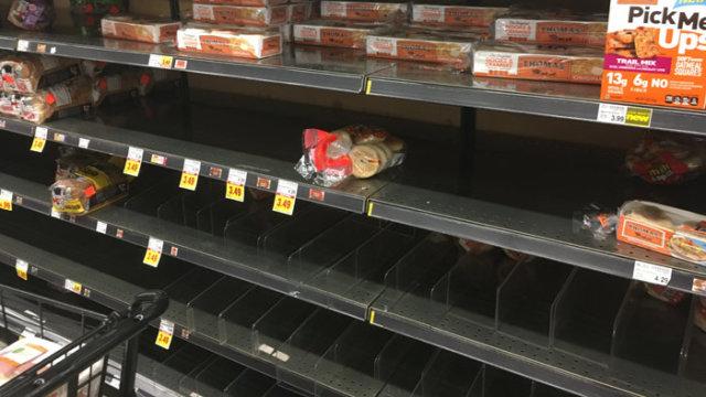 シカゴのスーパーパン品切れ/TAOブログ