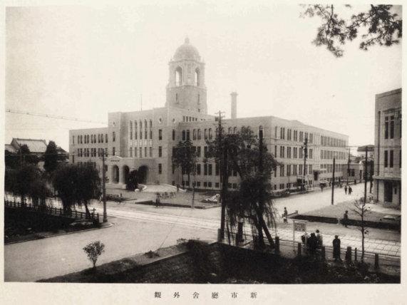 静岡市役所本館と静岡御用邸/TAOブログ