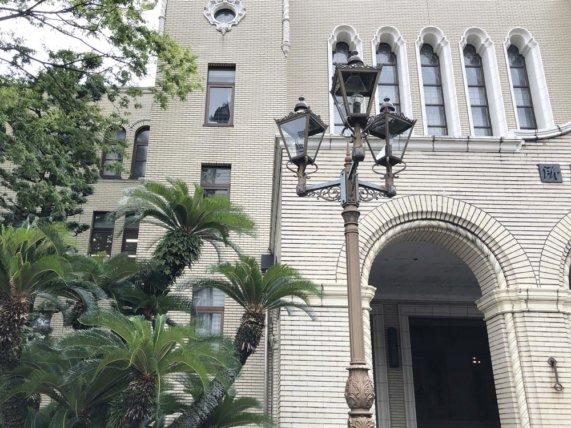 静岡市役所のガス燈/TAOブログ