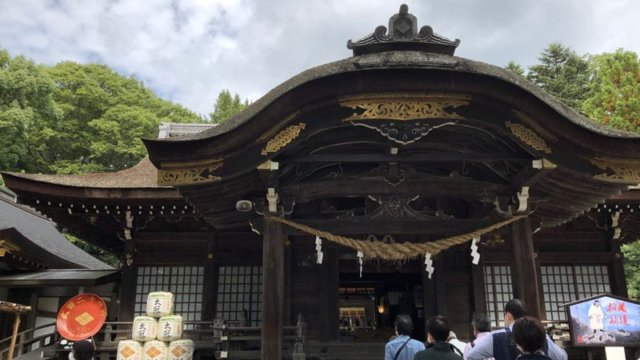 甲斐 武田神社/TAOブログ