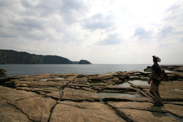海辺のテラス、千畳敷