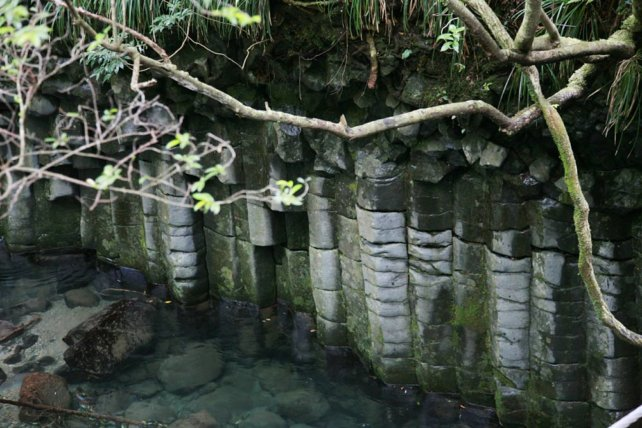 水中の柱状節理 伊豆半島ジオパーク/TAOブログ