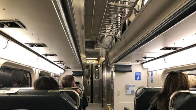 Metra車内/TAOブログ