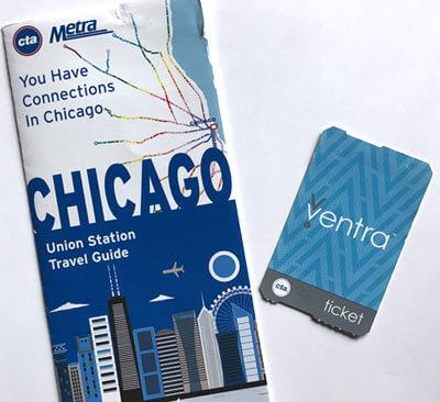 シカゴ Ventra チケット